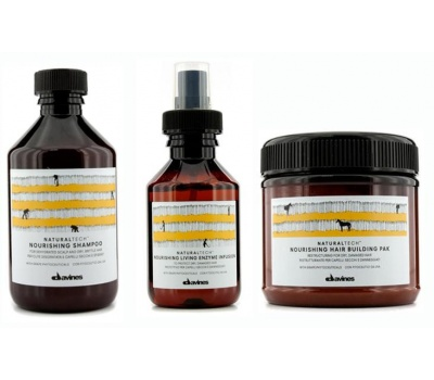 Davines Nourishing 3'Lü Set-Sprey+Maske 250ML+Şampuan 250ML